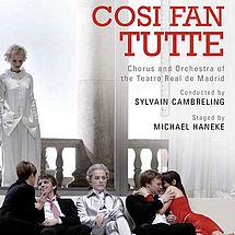 Wolfgang Amadeus Mozart Così fan tutte (2 DVDs)