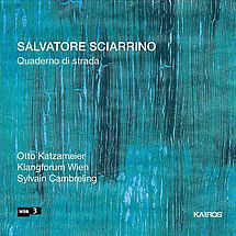 Salvatore Sciarrino Lieder für Bariton & Ensemble