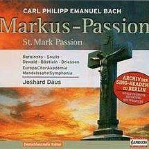 C. P. E. Bach Markus-Passion