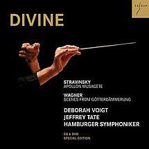 Sir Jeffrey Tate & Deborah Voigt Divine (1 CD, 1 DVD)