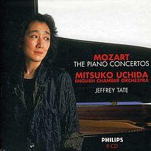 21 Klavierkonzerte mit Mitsuko Uchida und Sir Jeffrey Tate W. A. Mozart