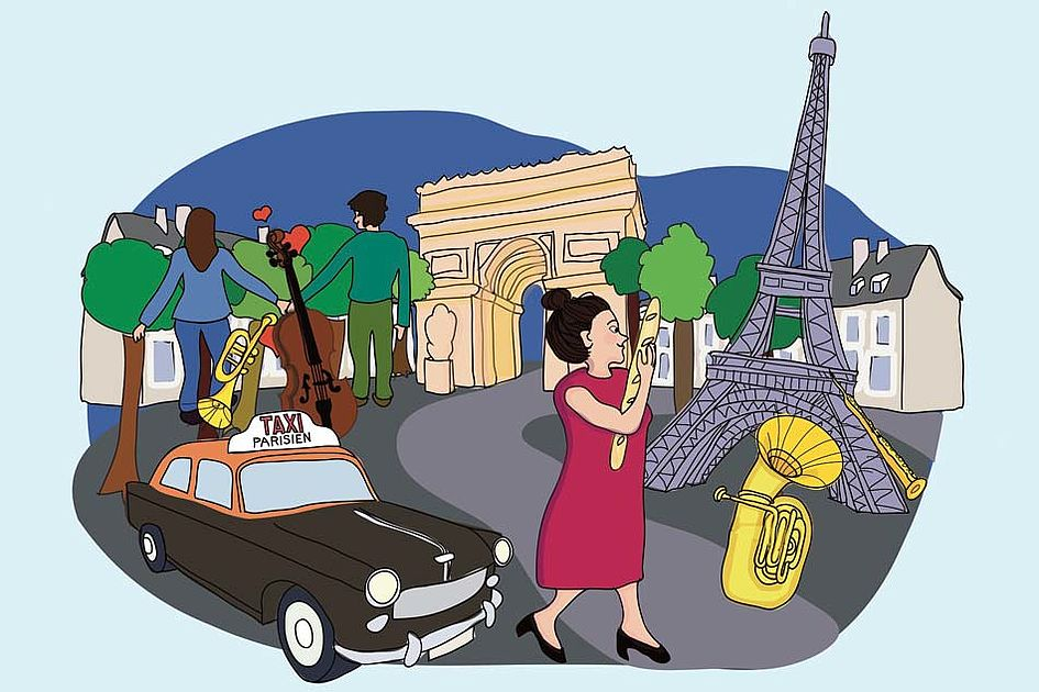 Juri entdeckt Paris