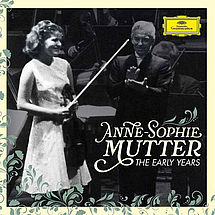 Anne-Sophie Mutter The Early Years (3 CDs, 1 Blu-ray Disc)