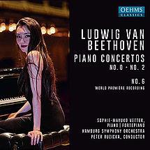 Ludwig van Beethoven Klavierkonzerte Nr. 0, 2, 6