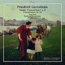 Gernsheim Violinkonzerte Nr. 1 & Nr. 2