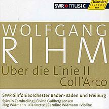 Rihm Über die Linie II für Klarinette & Orchester