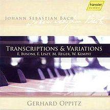 Gerhard Oppitz Transkriptionen & Variationen