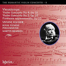 Henri Vieuxtemps Violinkonzerte Nr. 4 & 5