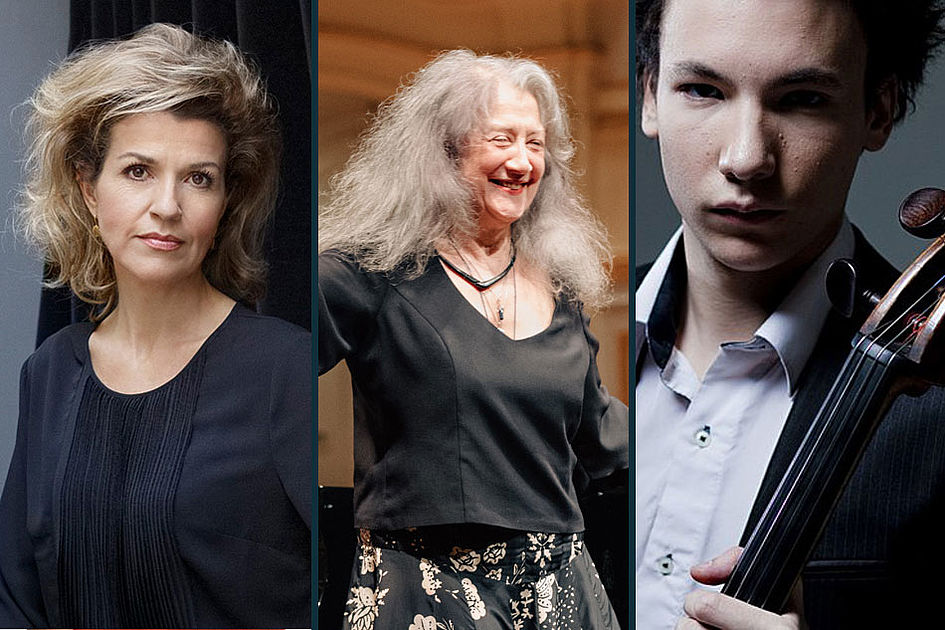 Martha Argerich und Anne-Sophie Mutter