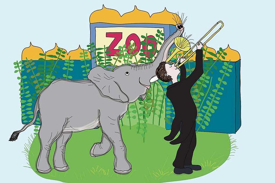 Maltes tierisches Zookonzert