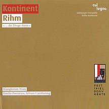 "Klangforum Wien Kontinent / Rihm ""... die Droge Atem"""