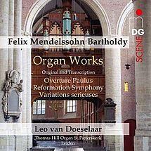 Mendelssohn Bartholdy Orgelwerke