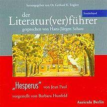 """Der Literatur(ver)führer Sonderband """"Hesperus"""" von Jean Paul"""