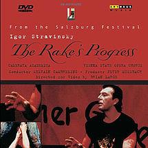Igor Strawinsky The Rake's Progress (DVD)