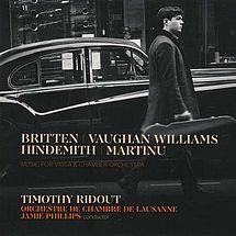 Ralph Vaughan Williams Suite für Viola & Orchester