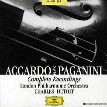 Paganini Violinkonzerte Nr. 1-6