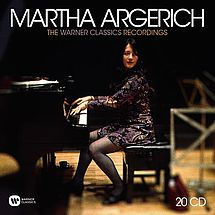 Martha Argerich The Warner Classics Recordings (20 CDs)
