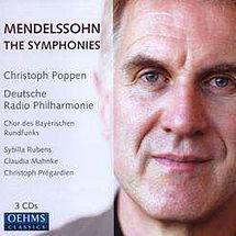 Felix Mendelssohn Bartholdy Symphonien Nr. 1-5