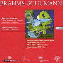 Brahms Konzert für Violine, Cello & Orchester h-Moll op. 102