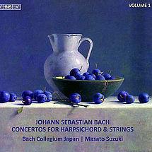 Masato Suzuki Bach: Cembalokonzerte Vol. 1