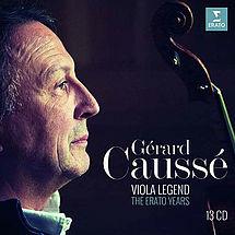 Gérard Caussé Viola Legend (Erato Years)