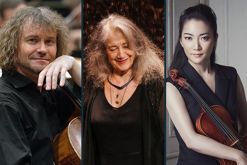 Brahms, Beethoven, Liszt, Franck