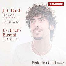 Federico Colli Werke von Johann Sebastian Bach