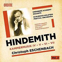 Paul Hindemith Kammermusiken Nr. 4-7