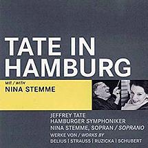 Tate in Hamburg (DVD) Nina Stemme, Hamburger Symphoniker, Jeffrey Tate